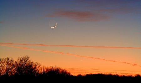 Меркурий гонится за заходящим Солнцем